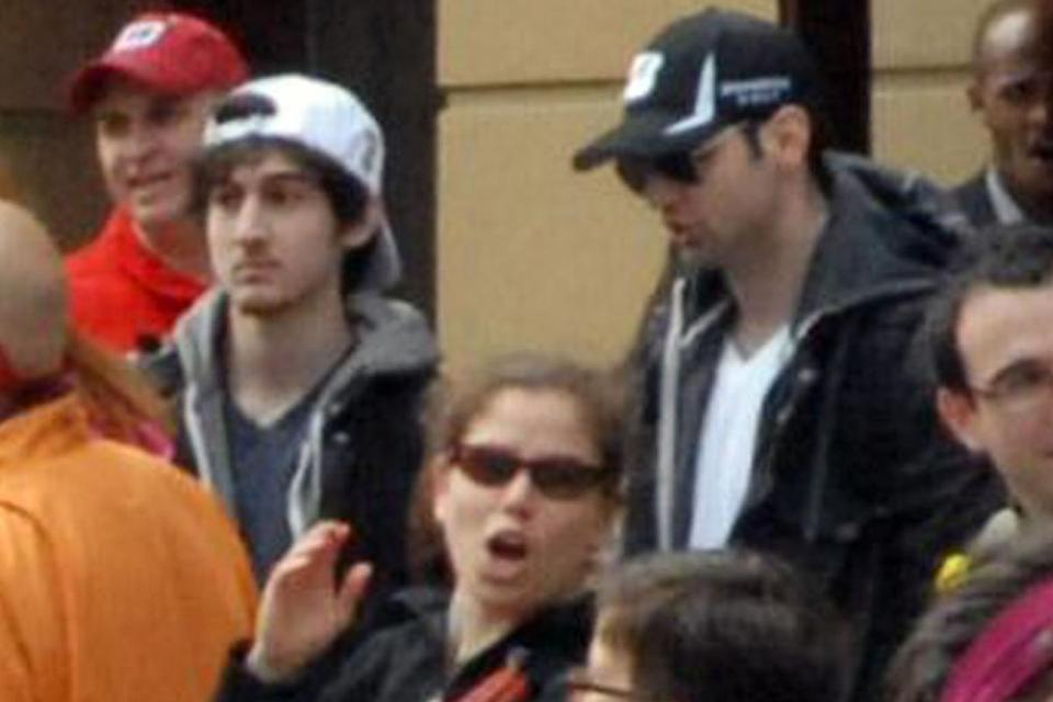 Federal officials believe the man in the white cap was Dzhokhar Tsarnaev, now 20 and accused of planting the bombs along with his older brother, Tamerlan.
