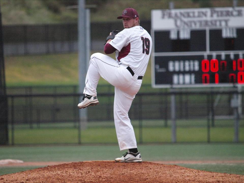 Joe Flynn has a 3-2 record and a 3.10 ERA at Franklin Pierce.