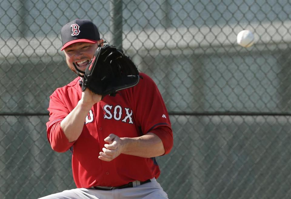 Jon Lester. (AP Photo/Steven Senne)