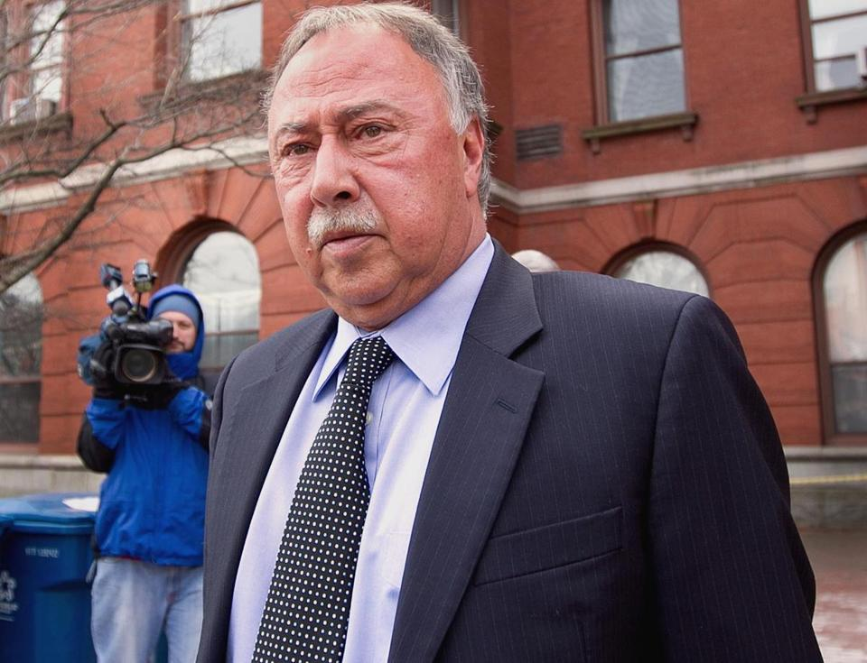 Jerry Remy leaves Tuesday's custody hearing for his granddaughter. Wendy Maeda Globe Staff.tz