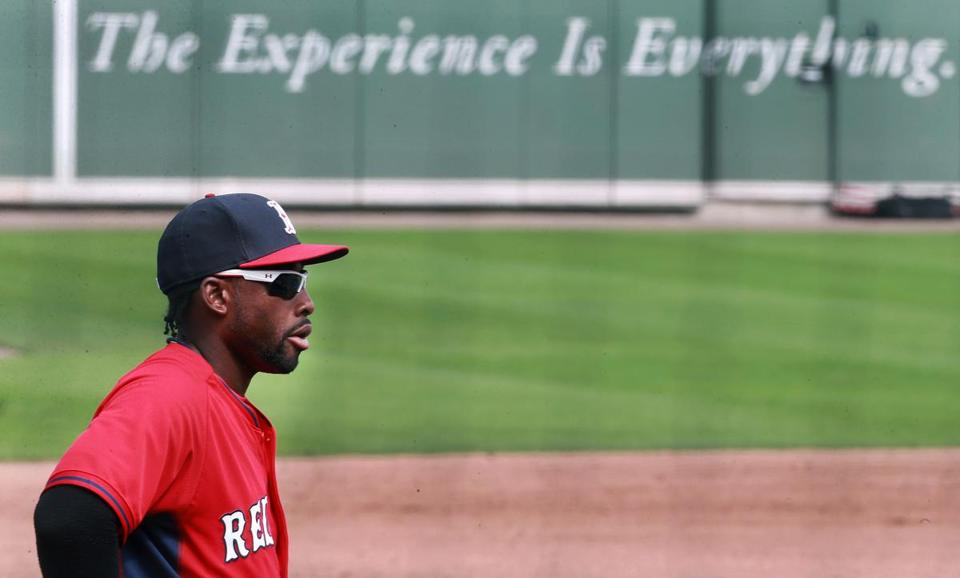 """I've experienced the major leagues and I know what it takes now to play,"" Jackie Bradley Jr. says."