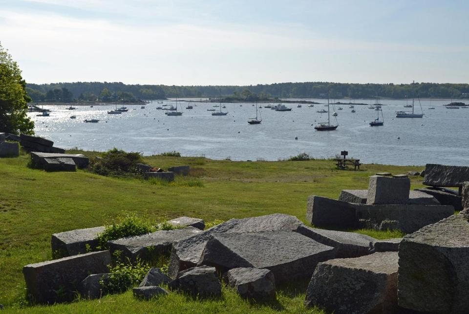 At Fort McClary, the views stretch from the harbor to the Atlantic Ocean.