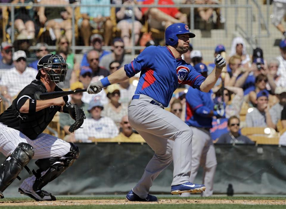 Ryan Kalish could make the Cubs' Opening Day roster.