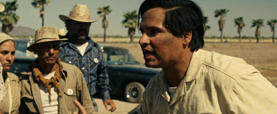 "Michael Peña stars in the title role of Diego Luna's ""Cesar Chavez."""