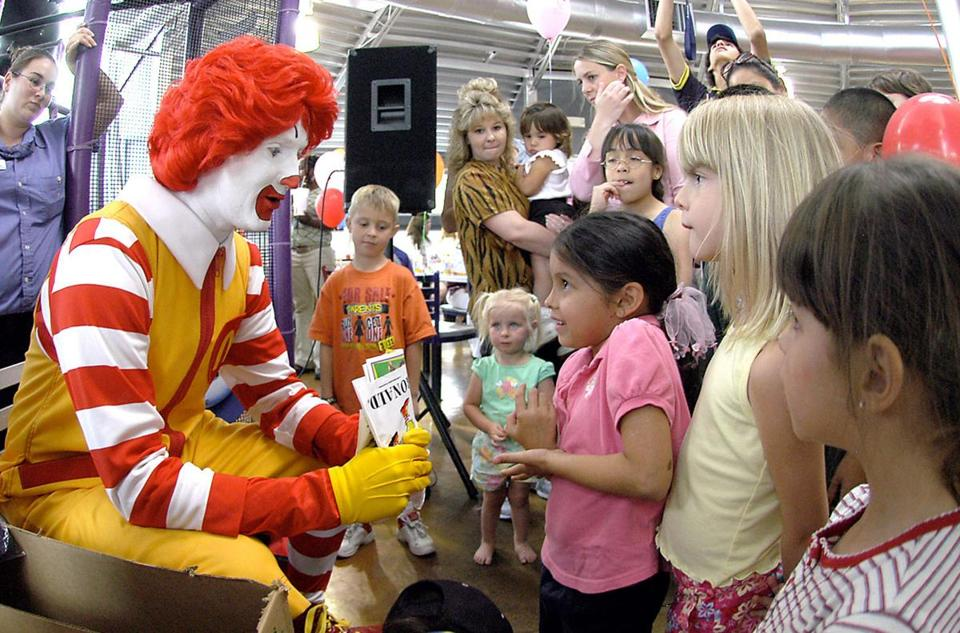 Ronald McDonald has become a part of American pop culture since his debut in 1963.