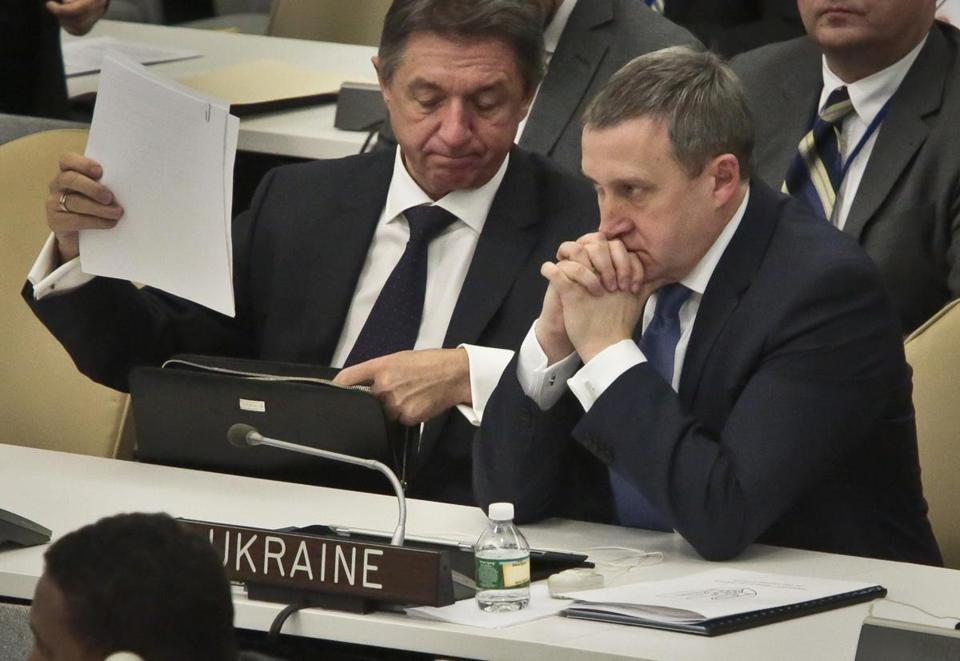 The UN General Assembly voted and approved a draft resolution on the territorial integrity of the Ukraine.