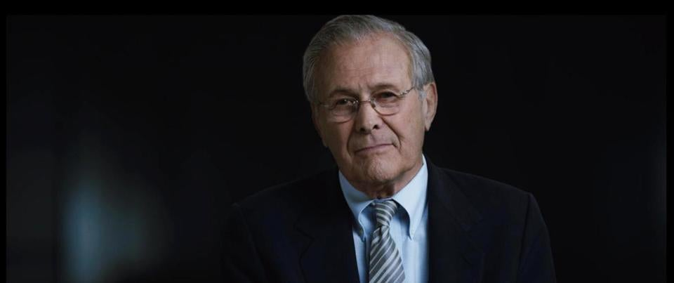 Donald Rumsfeld was the second longest-serving US secretary of defense after Robert McNamara, another manager of a disastrous war.