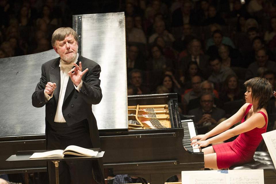 Sir Andrew Davis leads pianist Yuja Wang and the BSO on Prokofiev's Second Piano Concerto.