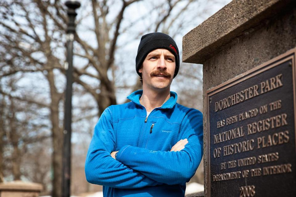 "Nikolas Franks is one of those featured in ""Why I Run."""