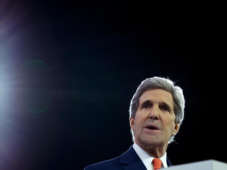 John Kerry delayed his US return to meet with his Russian counterpart.