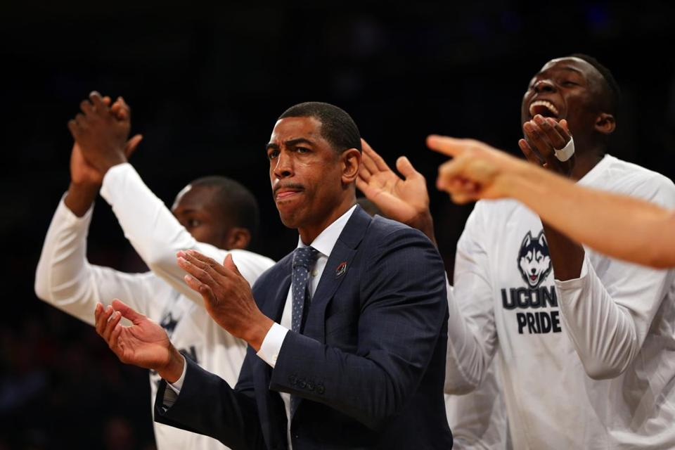 Uconn coach Kevin Ollie thinks Michigan State is a tough opponent, but he also thinks his players are pretty tough.