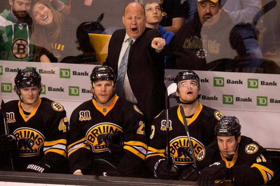Bruins coach Claude Julien said the last weeks of the regular season can be a difficult time to keep going full tilt.