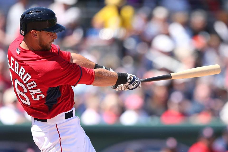 "Will Middlebrooks has stopped ""trying to get two hits every at-bat."""