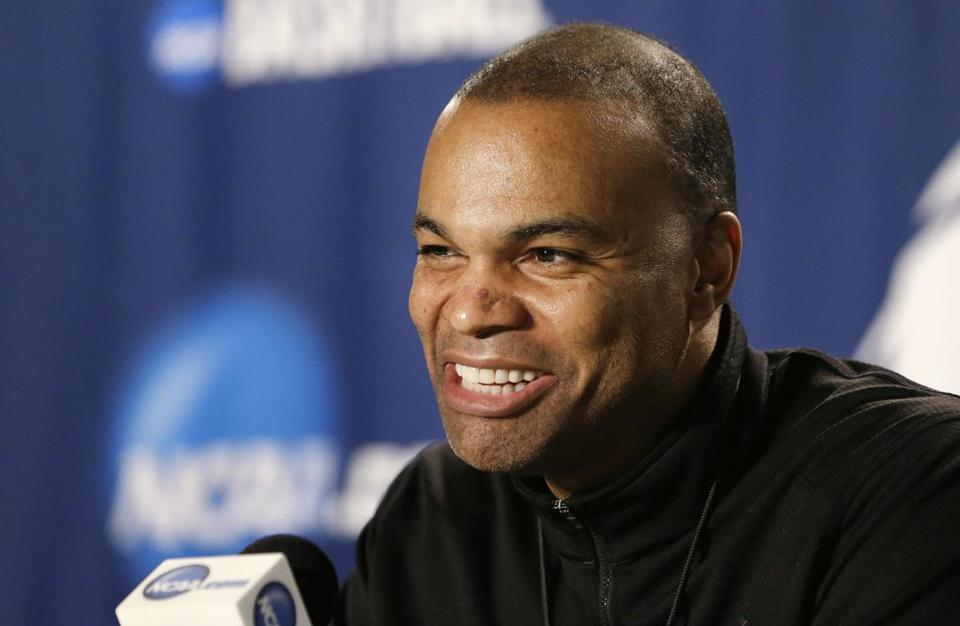 Harvard coach Tommy Amaker took himself out of the running for the Boston College coaching job.