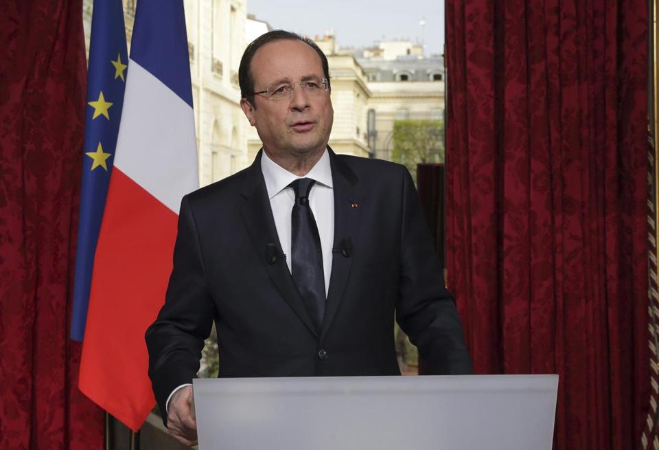 French President Francois Hollande appointed popular interior minister Manuel Valls as premier.