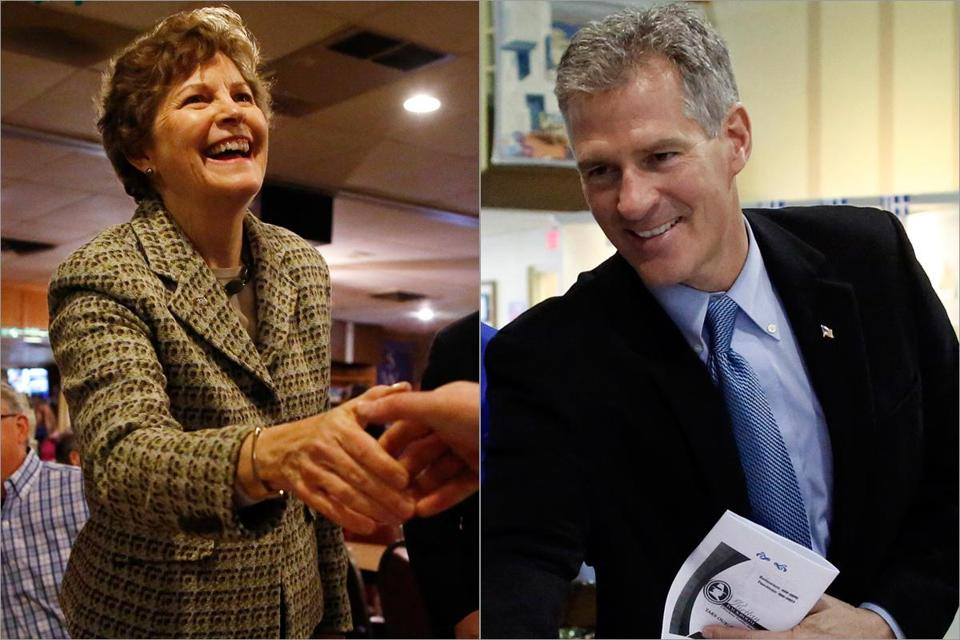 On Monday, allies for Jeanne Shaheen and Scott Brown took up the fight.
