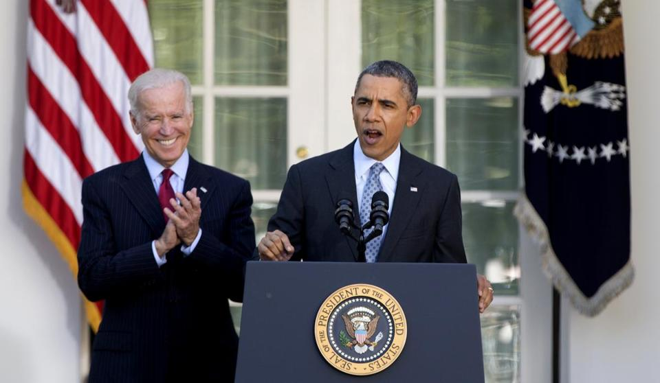 President Barack Obama spoke about the Affordable Care Act in the Rose Garden of the White House on Tuesday afternoon.