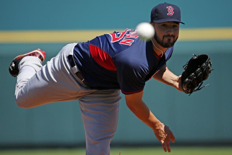 Brandon Workman could get called up from Pawtucket to start Sunday's game against the Rays.