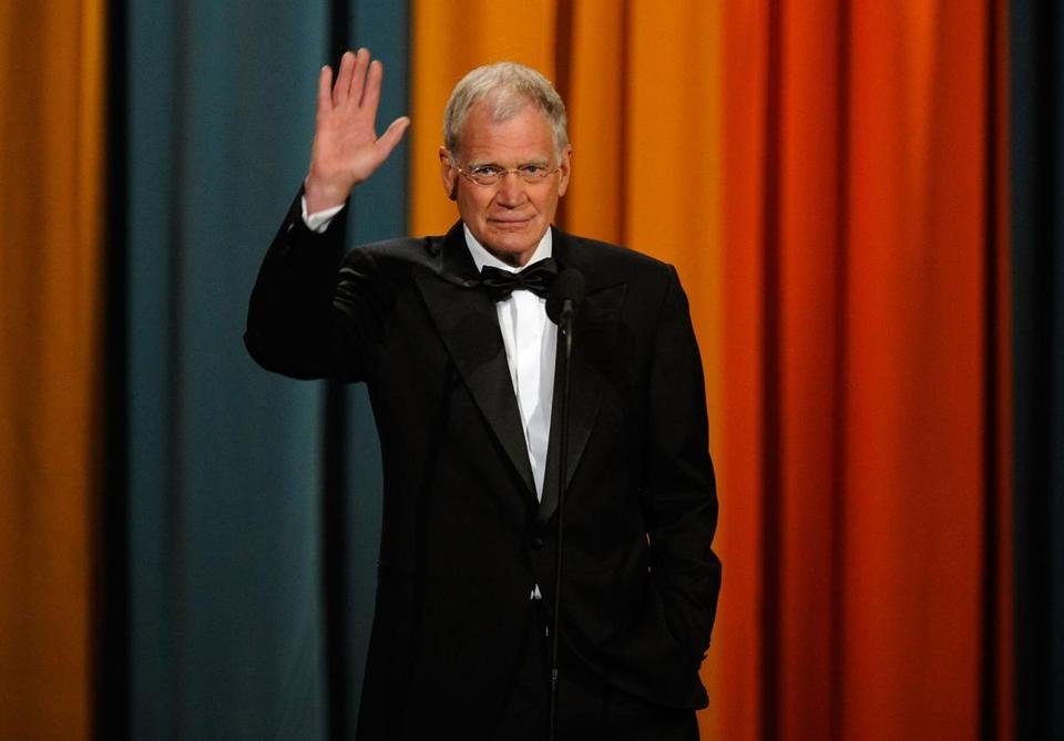 David Letterman announced on his show today that he will retire in 2015.