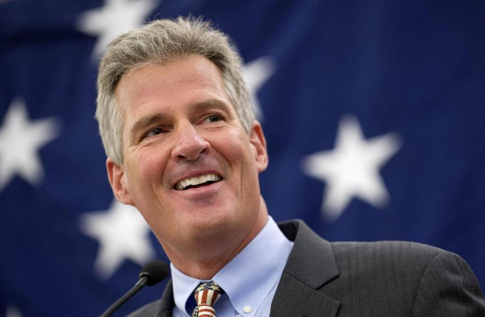 Scott Brown has hired a former aide to embattled New Jersey Governor Chris Christie.