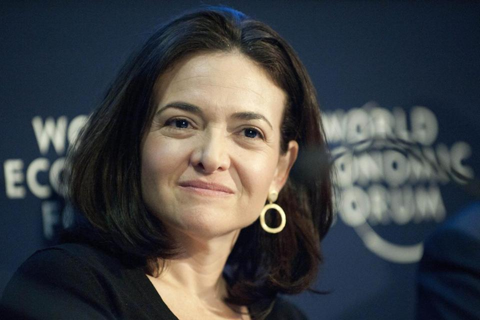 Sheryl Sandberg, chief operating officer of Facebook.