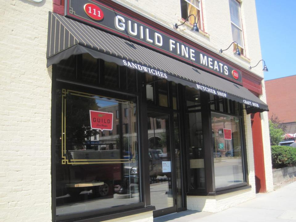 Guild Fine Meats opened last summer.