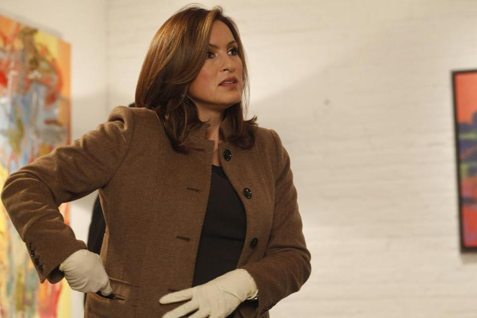 "Mariska Hargitay will enter year 21 on ""Law & Order: SVU."""