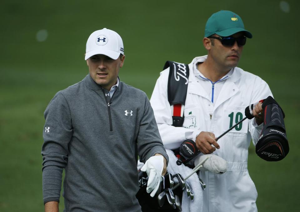 Jordan Spieth is one of 24 first-timers competing in Augusta this week.