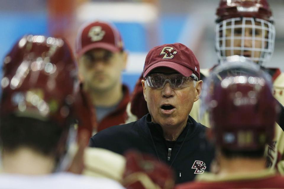 Jerry York and Boston College face Union in the Frozen Four semifinals Thursday at 5 p.m.