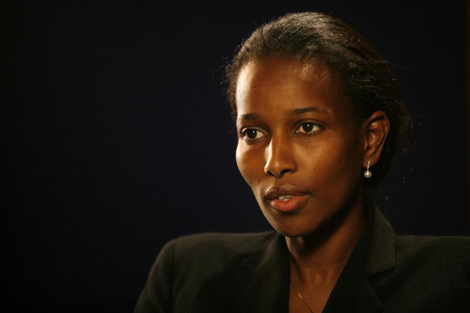 Ayaan Hirsi Ali had been invited to receive an honorary degree.