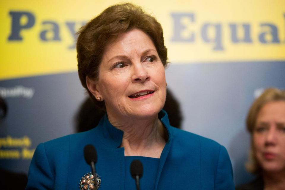 The poll, by the University of New Hampshire Survey Center, showed Senator Jeanne Shaheen, a former three-term governor, remains a popular figure.