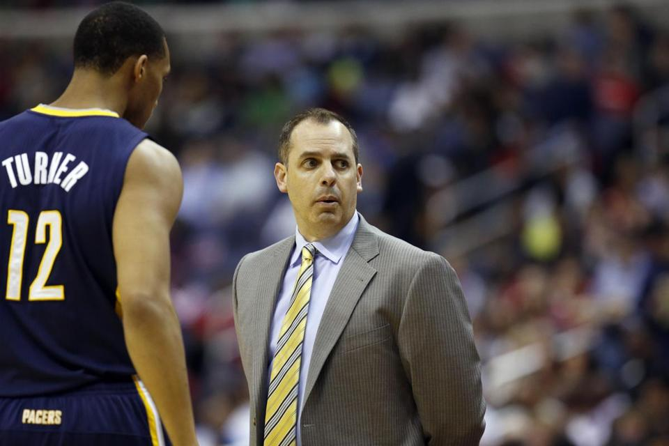 Coach Frank Vogel's Indiana Pacers have only won nine of their last 22 games.