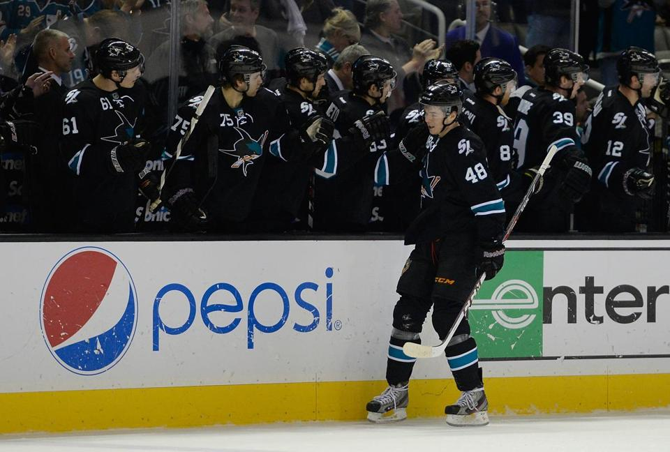 The Sharks' Tomas Hertl is a key part of a remade club that's gunning for a Stanley Cup.
