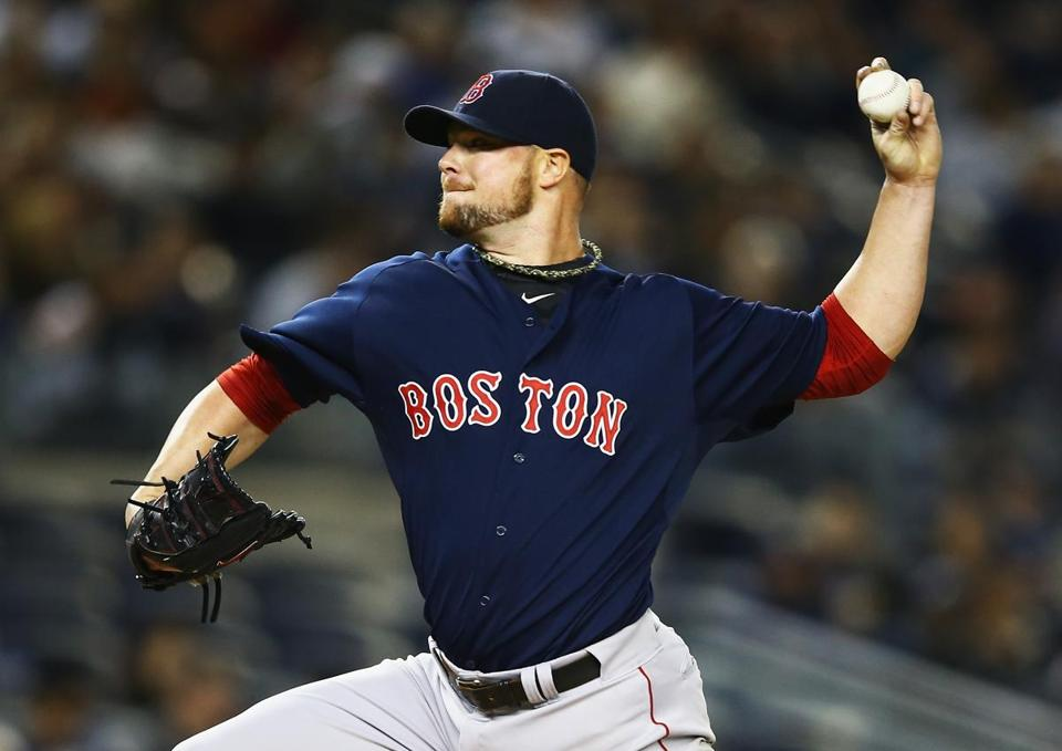 The Red Sox and Jon Lester are said tobe apart in talks for a new contract.