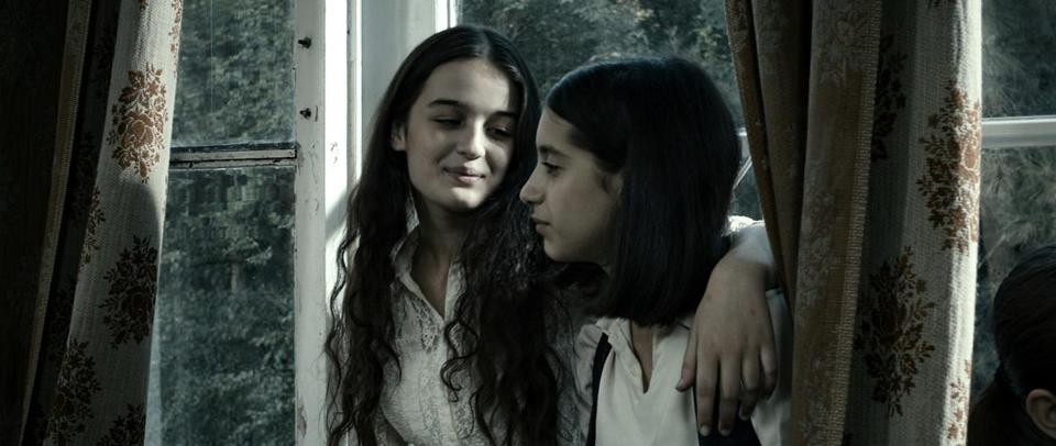 "Mariam Bokeria and Lika Babluani play best friends in ""In Bloom."""