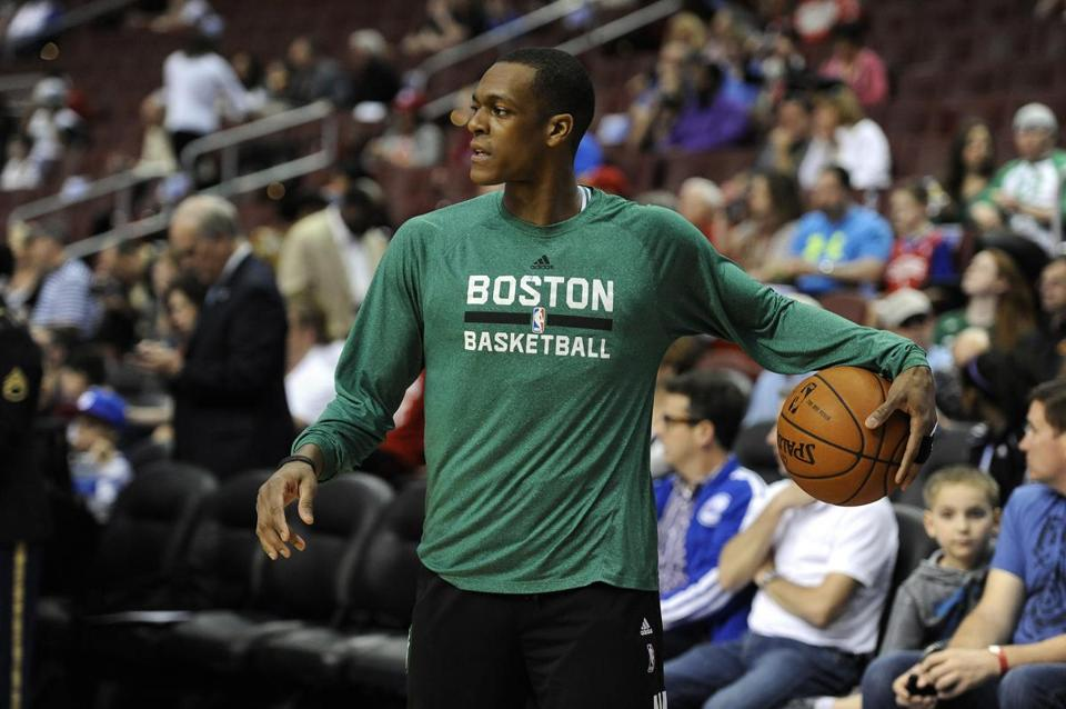 """I think Rondo's going to have a great year next year,"" Danny Ainge said."