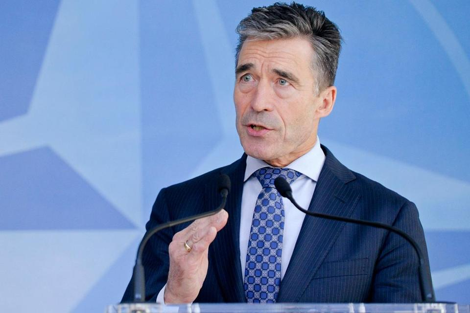 Secretary General Anders Fogh Rasmussen said NATO's air policing aircraft will fly more sorties over the Baltic region and allied warships will deploy to the Baltic Sea.