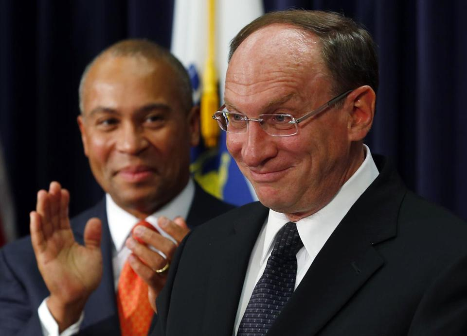 Ralph D. Gants (right), a current member of the Supreme Judicial Court, has been nominated by Governor Deval Patrick to the position of chief justice.