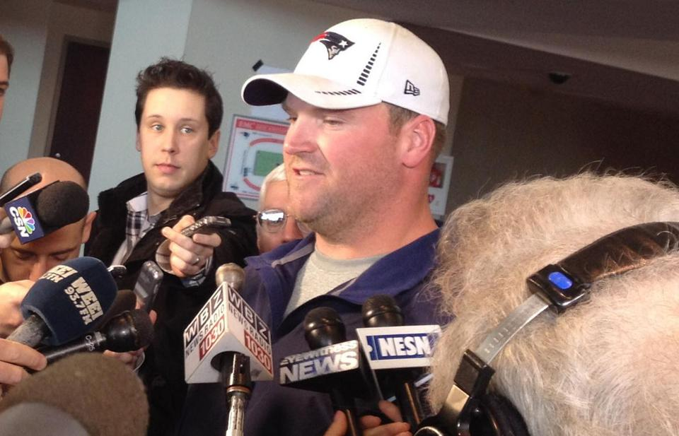 Logan Mankins appeared in all 16 Patriots regular-season games and both playoff games last season.