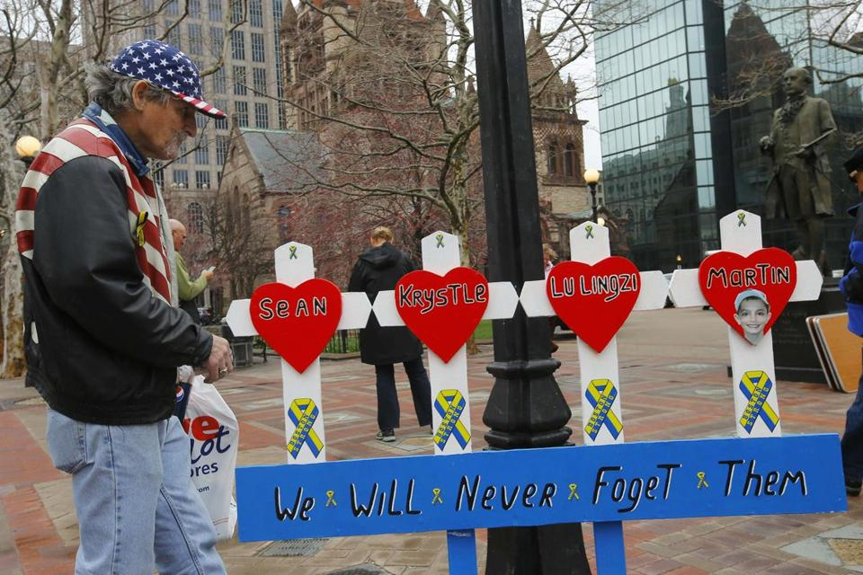 For more than a month, Kevin Brown tended to the sprawling memorial to the Marathon bombing victims.