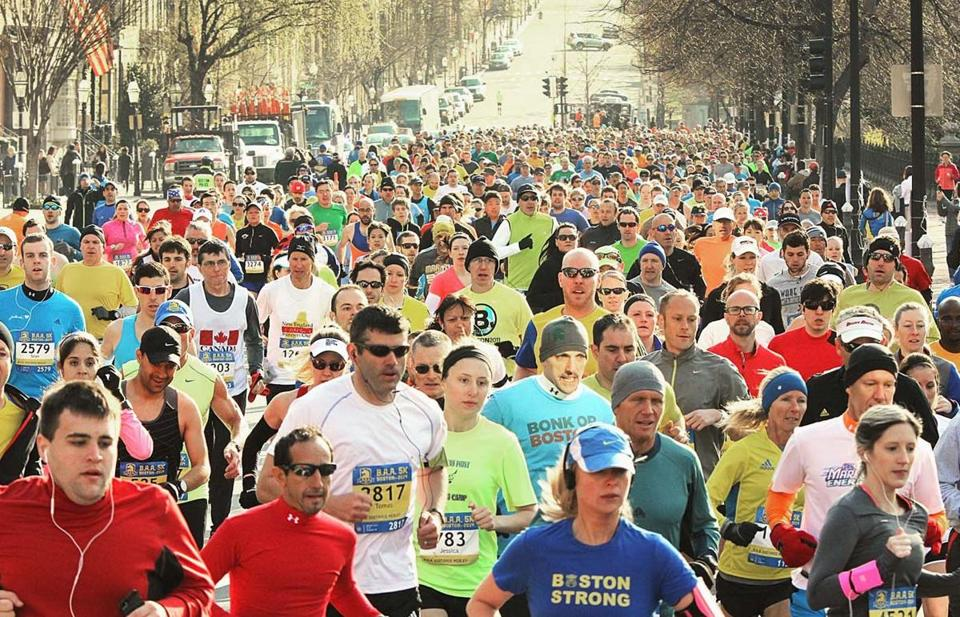 About 10,000 runners got Marathon weekend started with a short race.