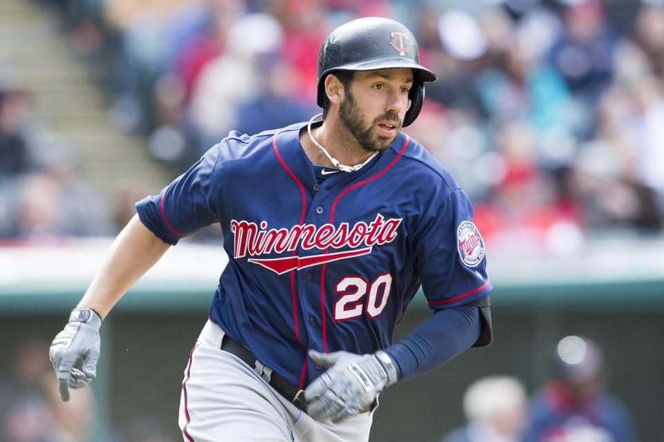 In his first 15 games, Twins outfielder Chris Colabello, a Milford native, hit .357 and drove in 19 runs.