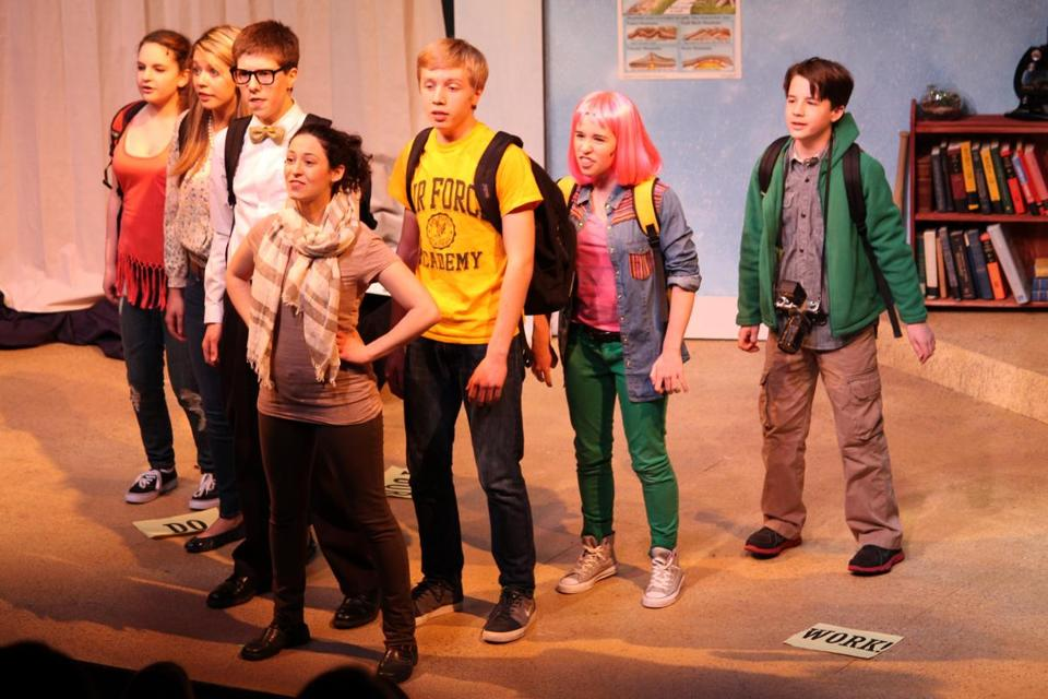 "The world premiere of the musical ""The Homework Machine"" runs through Sunday at the Roberts Studio Theatre."