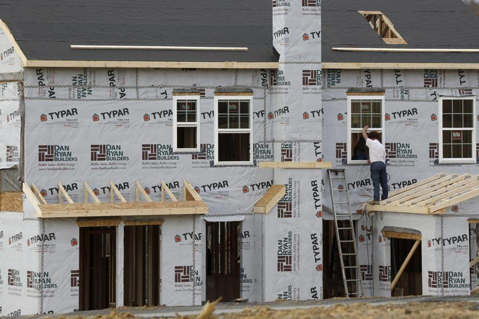 The Commerce Department releases new home sales for March.