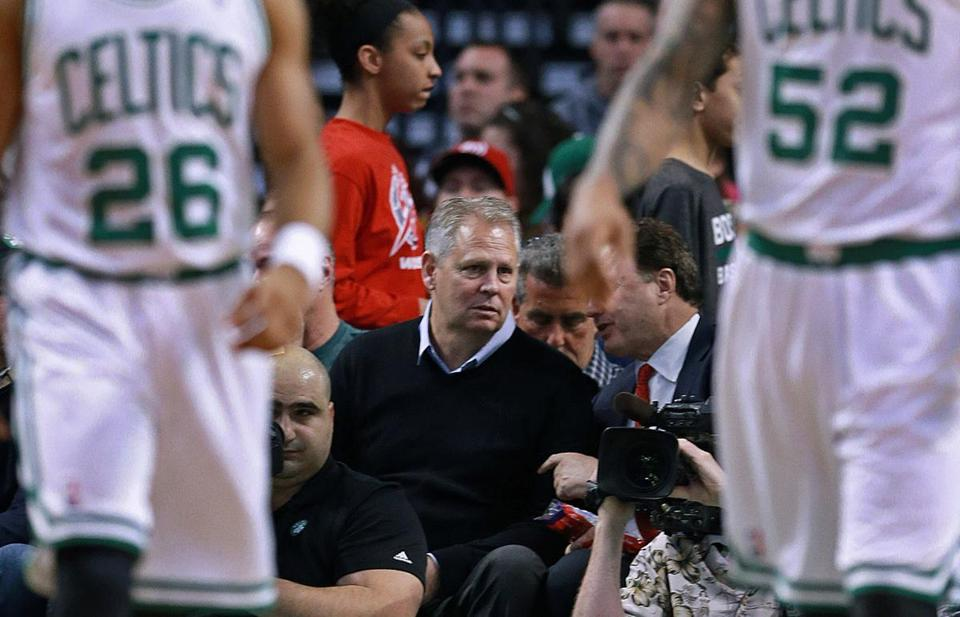 Danny Ainge put a new Big Three together in 2007 — he and the Celtics face a similar challenge this summer. (File/Jim Davis/Globe Staff)