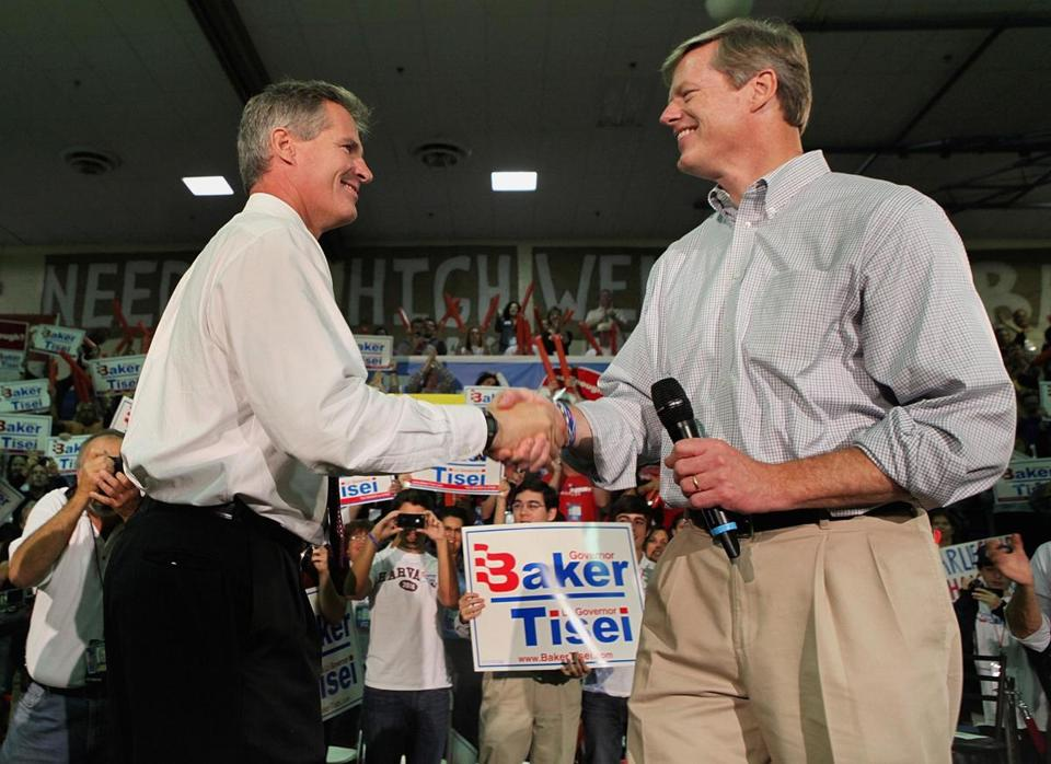 Scott Brown's entrance into New Hampshire's US Senate race has created a political and media firestorm that some analysts believe will damage critical underpinnings of Charlie Baker's gubernatorial candidacy in Massachusetts.