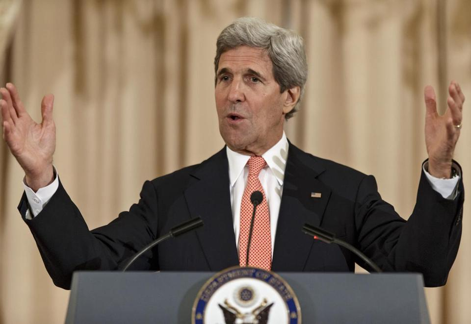 Secretary of State John Kerry earned his law degree from Boston College in 1976.