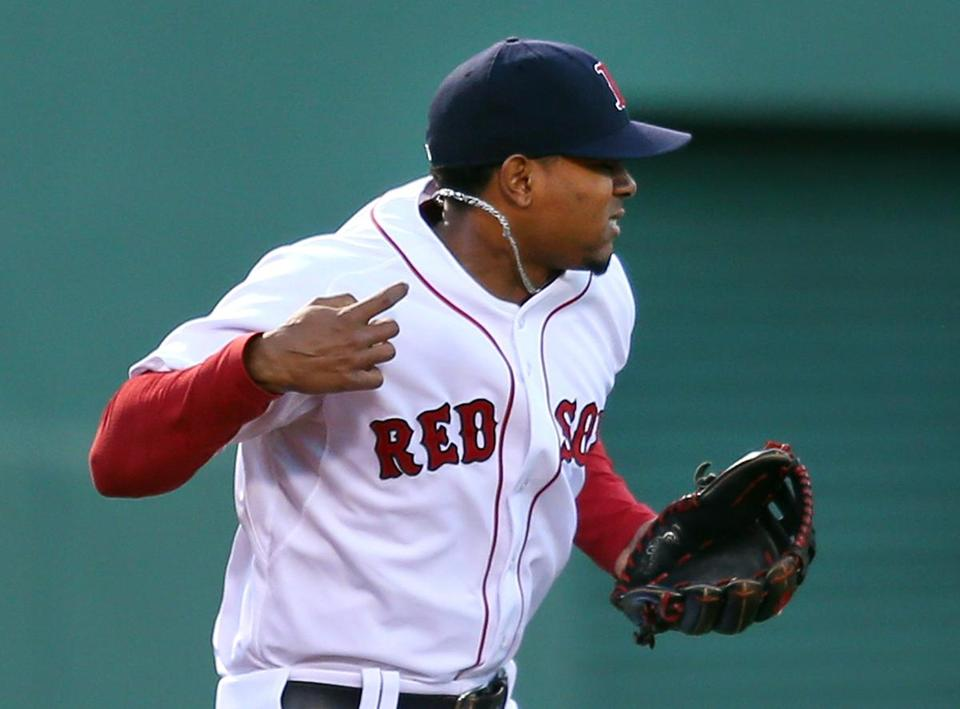 Xander Bogaerts' future could be at third base or outfield.