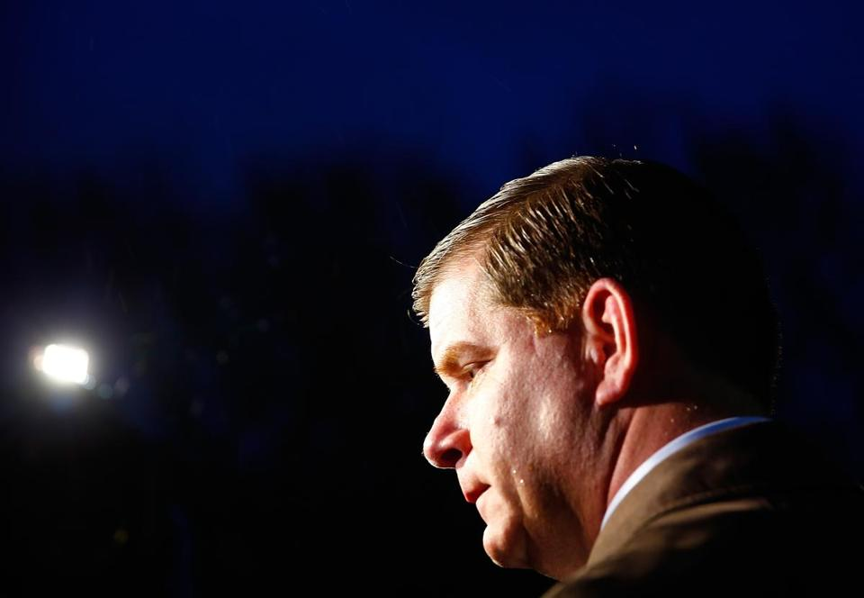 Boston Mayor Martin J. Walsh promised during last year's mayoral campaign that he would move swiftly to reach a resolution on a contract with the city's firefighters.
