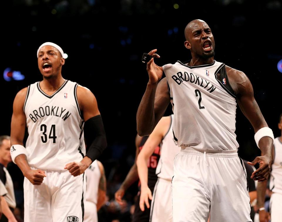 Paul Pierce and Kevin Garnett showed in Game 3 why the Nets brought them to Brooklyn.